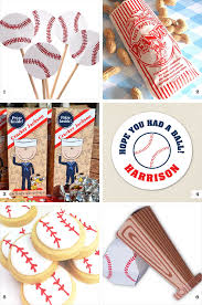personalized cracker jacks baseball party decor and favor ideas chickabug