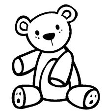 teddy bear coloring kids color luna