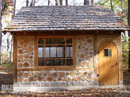 build your own budget friendly cordwood cottage