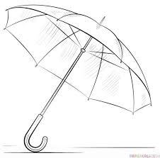 umbrella clipart pencil sketch pencil and in color umbrella