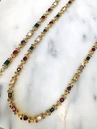 multi stone necklace images Multi stone necklace sonar kamal beverly hills jpg