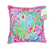 Lilly Pulitzer Home Decor Fabric by Palmetto Moon Lilly Pulitzer Spot Ya Large Pillow Palmetto Moon