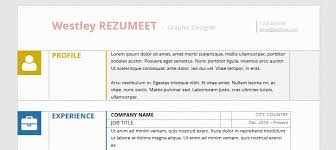 Ut Resume Wynwood Multicolor Resume Template