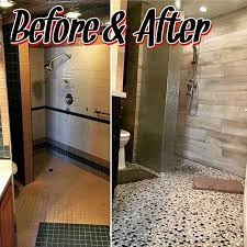 Bathroom Remodels Before And After Pictures by Drs Inc Ocean Front Bathroom Remodel Before After Picture