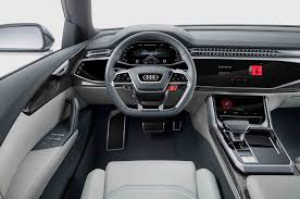 audi dashboard first look audi q8 concept automobile magazine