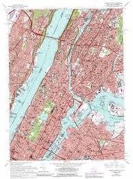 Map Central Park Central Park Topographic Map Ny Nj Usgs Topo Quad 40073g8