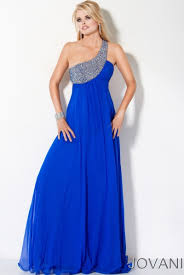 image 71300 jovani prom dress s12 one shoulder blue chiffon jpg
