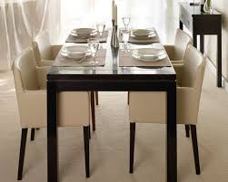 dining room black leather chairs for dining table unique dining