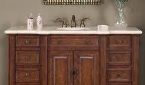 enjoyable 54 inch bathroom vanity single sink 49 wondrous