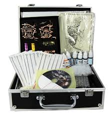 tattoo kit without machine professional tattoo kit 4 machine guns power supply disposable