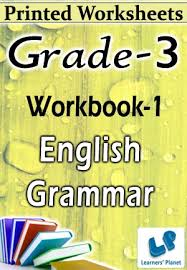 grade 3 english grammar workbook 1 printed book interactive