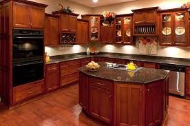 traditional adorable dark maple kitchen cabinets at kitchens with cherry wood cabinets your go to guide in stock kitchens