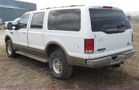 Ford Excursion New 2000 Ford Excursion Limited Suv Item E3364 Sold April 1