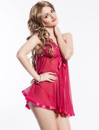 look good and comfortable with ladies babydoll nightwear facebeneath