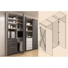 Pivot Closet Doors Hawa Concepta 25 System For Pivoting Pocket Doors Richelieu