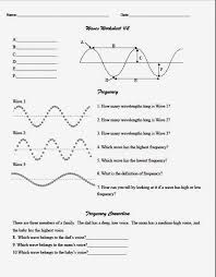 light waves chem worksheet 5 1 answer key teaching the kid middle wave worksheet co op physics