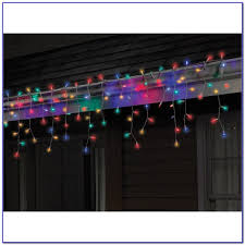 ge multi color led icicle lights painting home design ideas