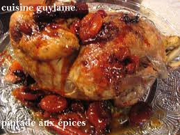 cuisiner pintade pintade aux épices de noël cuisine guylaine