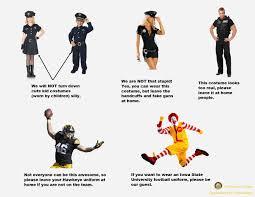 iowa police trolls iowa state fans with halloween costume guidelines