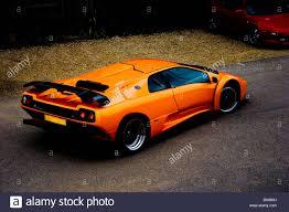 lamborghini diablo orange bright orange lamborghini diablo gt supercar rear three quarters