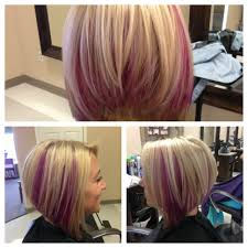 pink highlighted hair over 50 30 must try medium bob hairstyles hair cuts haircut bob and