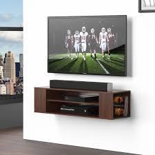tv wall mounts with shelf