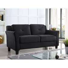 Black Microfiber Couch And Loveseat Microfiber Sofas Couches U0026 Loveseats Shop The Best Deals For