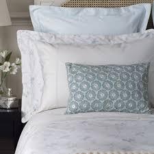 feminine bedding kassia duck egg bed linen collection at bedeck 1951