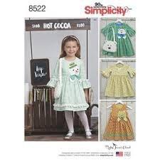 children u0027s clothes sewing patterns simplicity