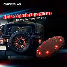 led lights for jeep wrangler jk firebug jeep 3rd brake light led for spare tire on jeep wrangler