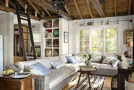 small cozy living room ideas stripes leather comfy cushion and backrest small cozy living