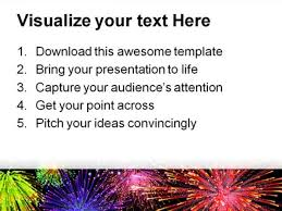 fireworks background powerpoint template 1010 powerpoint themes