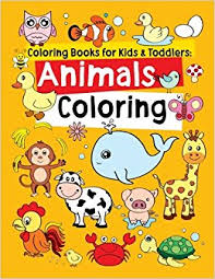 coloring books for toddlers animals coloring children