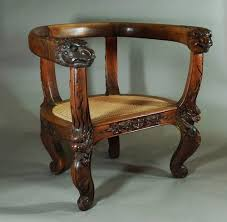 Chinese Armchair Chinese Armchair With Carved Dragons Antiques Atlas