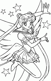 sailor moon coloring book scans sailor moon coloring pages