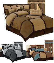 Bedding Decorating Ideas Bedding Sets Bedroom Space Dark Purple And Brown Bedding Brown