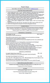 rn resume summary of qualifications exles customer high quality critical care nurse resume sles