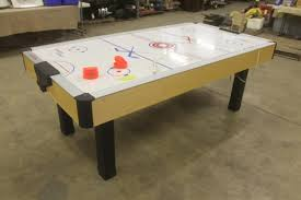 Air Hockey Coffee Table Carrom Sports Air Hockey Table With Paddles Works