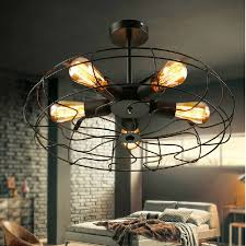 Ceiling Fan With Cage Light Vintage Ceiling Fan With Light Unthinkable Barn Patio Ideas