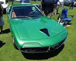 alfa romeo montreal engine bright green alfa romeo montreal
