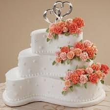 contemporary curves cake wilton