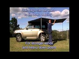 Wing Awning Rapid Wing Awning By Supa Peg Youtube