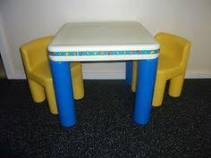 fisher price table and chairs little tikes table and chair set vintage little tikes child size
