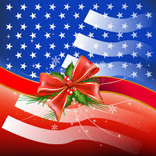 merry with flag usa stock illustration illustration of