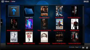 inside addon series new update evolve kodi addon movie section