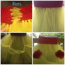 belle for halloween diy tutu for halloween costumes craft