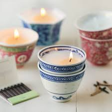tea cup candle teacup votives thirsty for tea