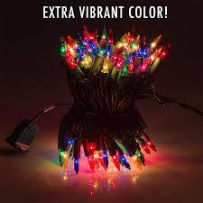 Amazon Com Holiday Wonderland 100 by Amazon Com 300 Multi Colored Miniature Christmas Lights Set