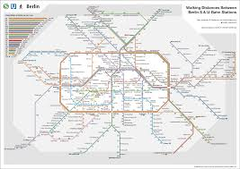 Berlin Metro Map by No Trains Go But You Do U2013 A Walking Map Of Berlin Public Transport