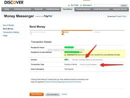 a review of discover s money messenger payment service money cone